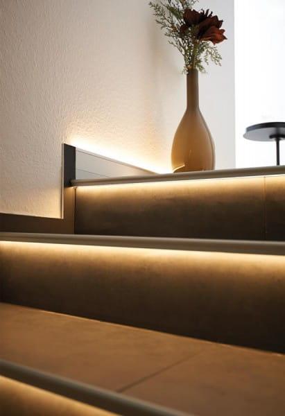 DURAL LED Treppenprofil im Florentiner Stil