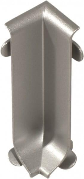Innenecke für Sockelleisten 40 mm silber eloxiert (matt)