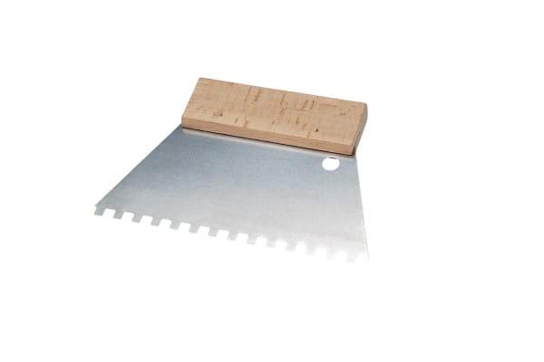 Kleberspachtel 180 mm 6x6 mm Zahnung