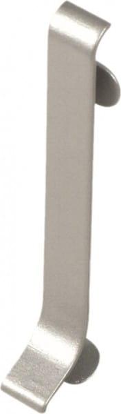 Verbinder für Sockelleisten 40 mm silber eloxiert (matt)