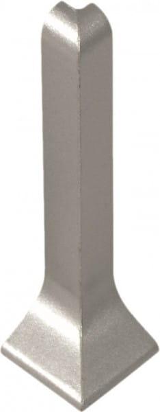 Außenecke für Sockelleisten 40 mm silber eloxiert (matt)