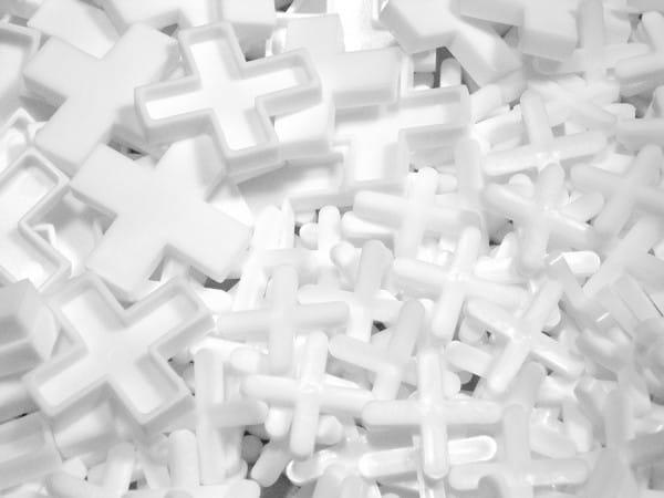 Fugenkreuze weiß X-Form