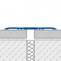 Abdeckprofil FLEX ungebohrt technische Zeichnung