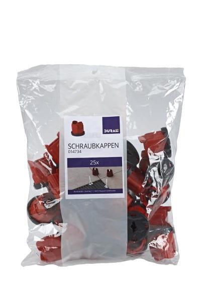 DURAL Turnfix Schraubkappen (25 Stk.)