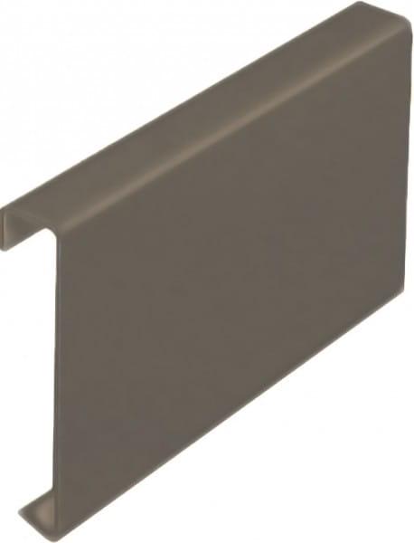 Verbinder für Balkonprofil T-Form 55 mm beige