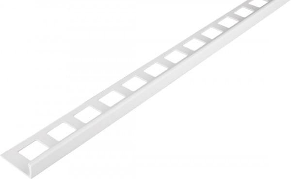 Winkelprofil-PVC weiß