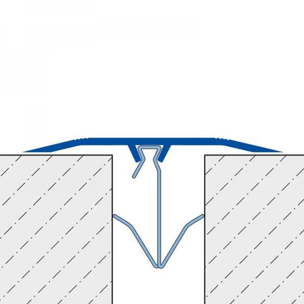 Abdeckprofil HC aus PVC Standard Zeichnung