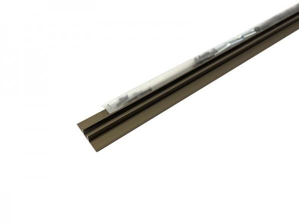 Übergangsprofil Aluminium bronze eloxiert
