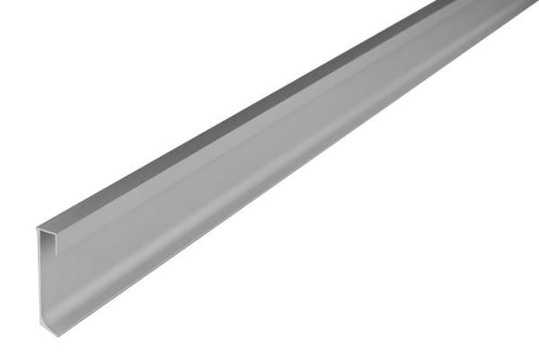 DURAL LED Construct Sockelleiste silber eloxiert