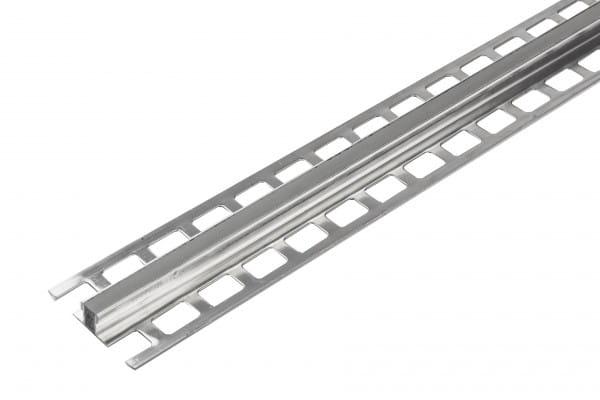Dehnungsfugenprofil mit Schenkeln aus Aluminium